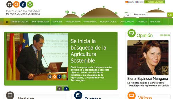 Plataforma Tecnológica de la Agricultura Sostenible