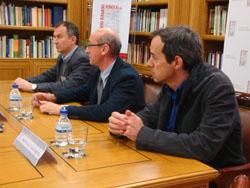 Rueda de prensa de presentación de la jornada organizada por la Fundación Ramón Areces