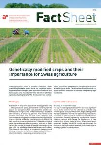 Informe transgenicos academia suiza de las ciencias biotecnologia