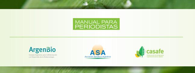 MANUAL PARA periodistas biotecnologia agraria argenbio