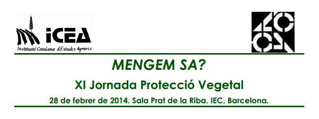 XI Jornada de Protección Vegetal