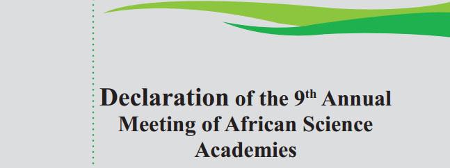 declaracion africa ciencias transgenicos biotecnologia