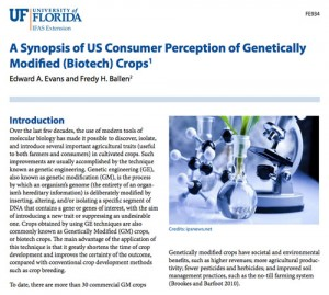 percepcion estados unidos cultivos transgenicos