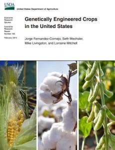 Informe USDA transgenicos USA
