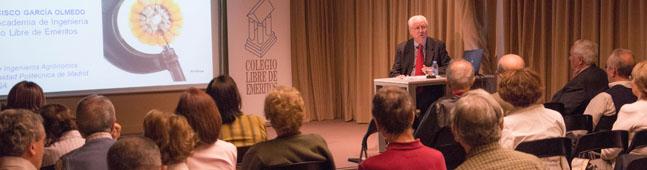 Francisco Garcia Olmedo colegio libre de emeritos