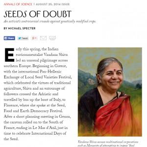 seeds of doubt vandana shiva