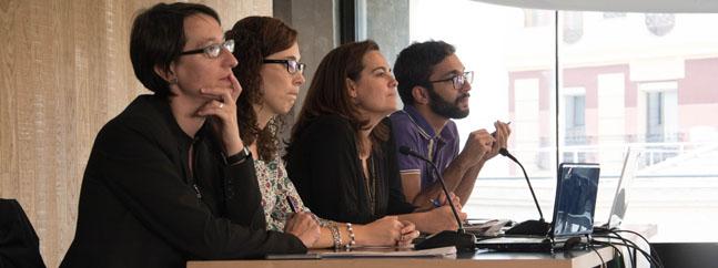 Asociación de Comunicación en Biotecnologia mesa redonda comunicacion