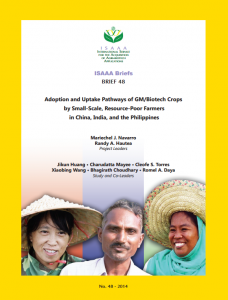 Informe ISAAA noviembre 2014