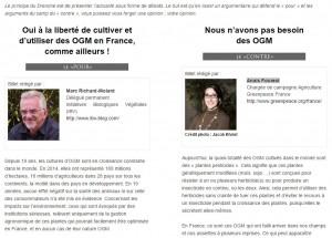 Transgenicos Francia debate opiniones