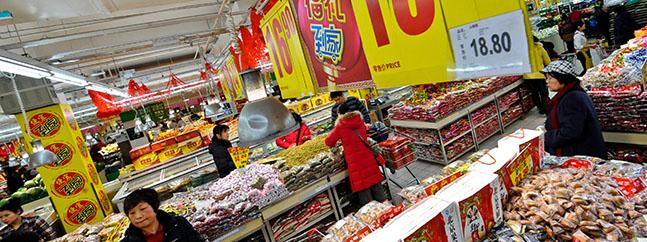 china consumidores omgs